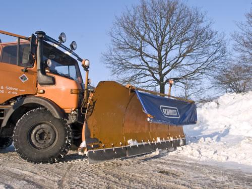 Winterdienst durch Hans Möller und Söhne GmbH